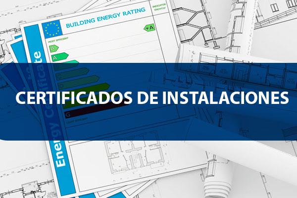 Certificados de instalaciones eléctricas